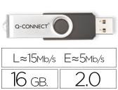 Pen drive usb q-connect flash 16gb