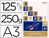 PAPEL COLOR COPY DIN A3 250 GRS PACK DE 125 FOLHAS