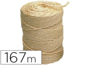 CORDA SISAL 3 CABOS LIDERPAPEL ROLO 1 KG