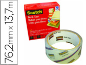 FITA ADESIVA SCOTCH 845 BOOK TAPE 76,2MM X 13,7 MT