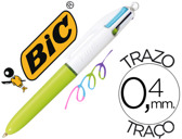 ESFEROGRAFICA BIC QUATRO CORES FASHION MINI 71779