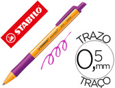 ESFEROGRAFICA STABILO POINTBALL 0,5 MM RETRACTIL LILAS