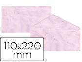 ENVELOPES FANTASIA MARMOREADOS ROSA 110X220 MM 90 GR EMBALAGEM DE 25