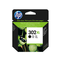 Tinteiro Original HP OfficeJet 3800/ 3830/ 4650 (F6U68A) 302XL Preto