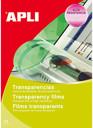 Apli Acetatos A4 Ink Jet 01061 100 fls